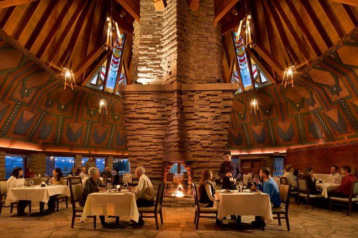 Fifty44 dining room lodge at nakoma