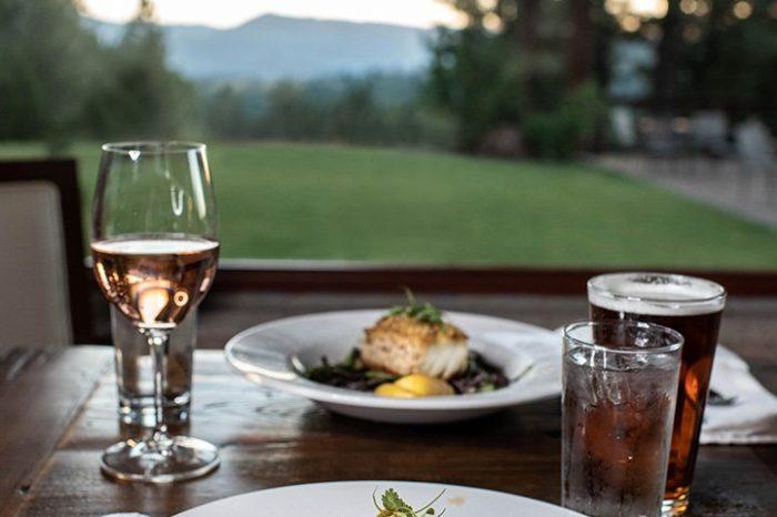 Dining Sierra Views