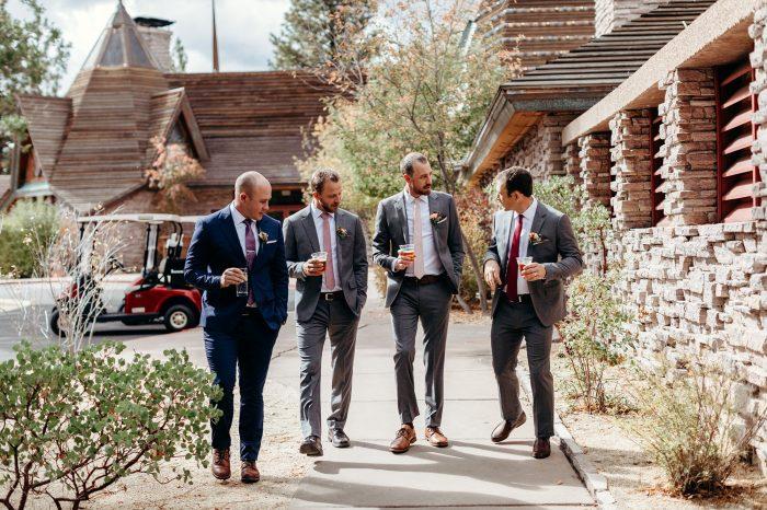 groomsmen lodge at nakoma