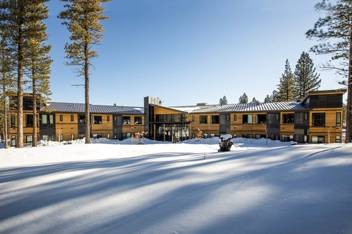 Inn at Nakoma Winter Exterior