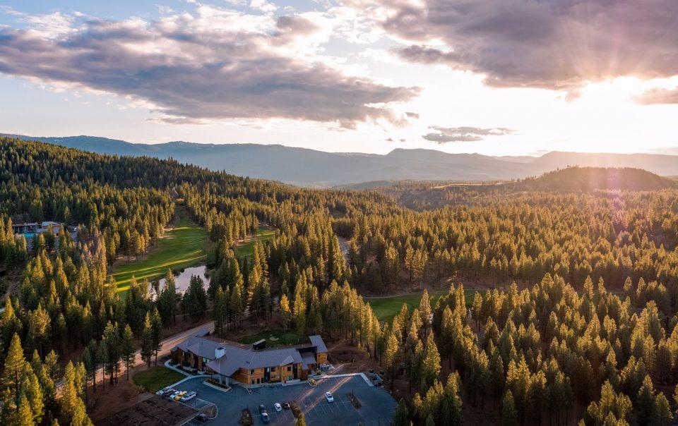Nakoma Resort Overview Aerial