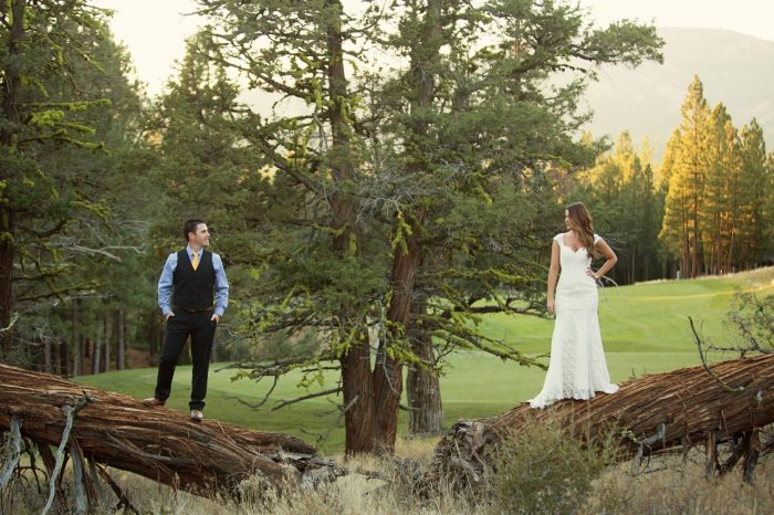 nakoma wedding engagement north Sierra Lake Tahoe