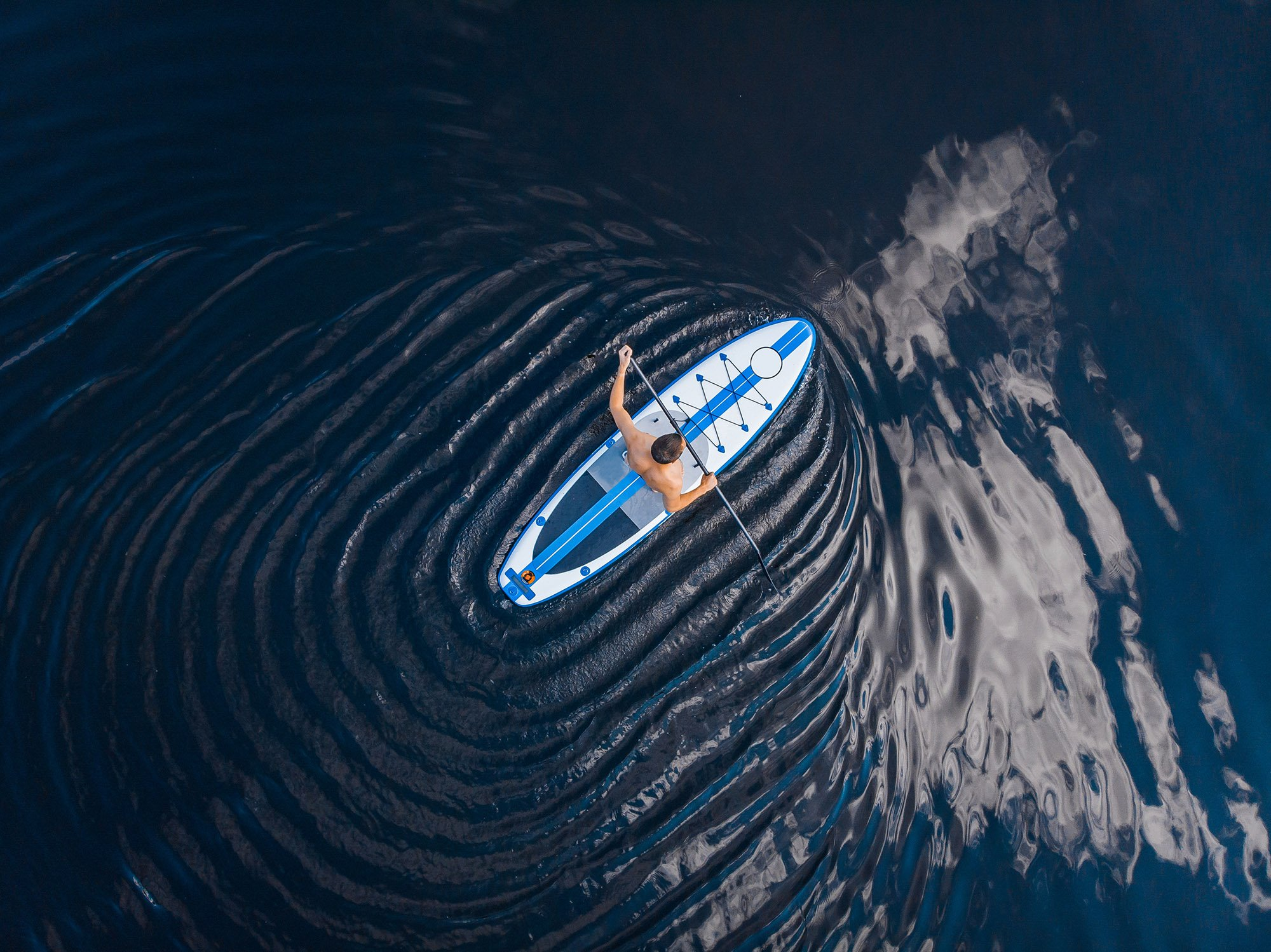 Paddle Boarding Summer Activity