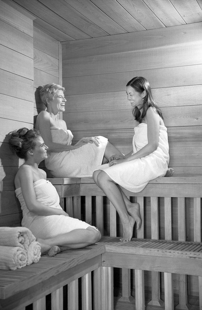 Steam Room Sauna Girls
