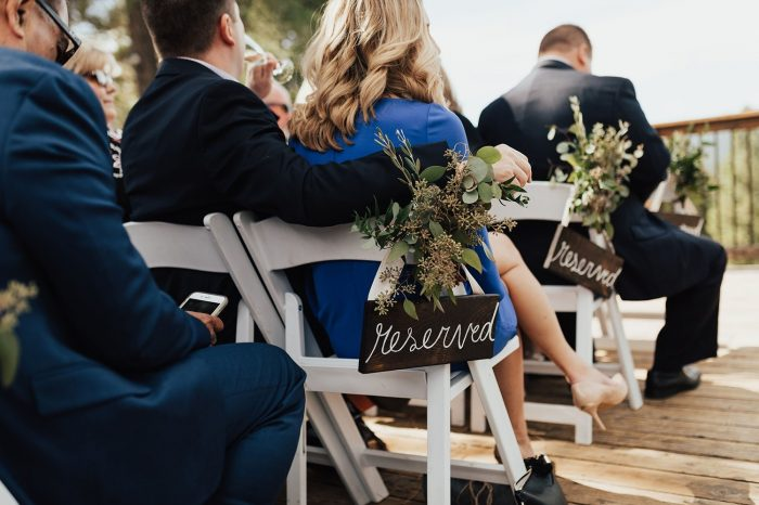 outdoor wedding seating venue