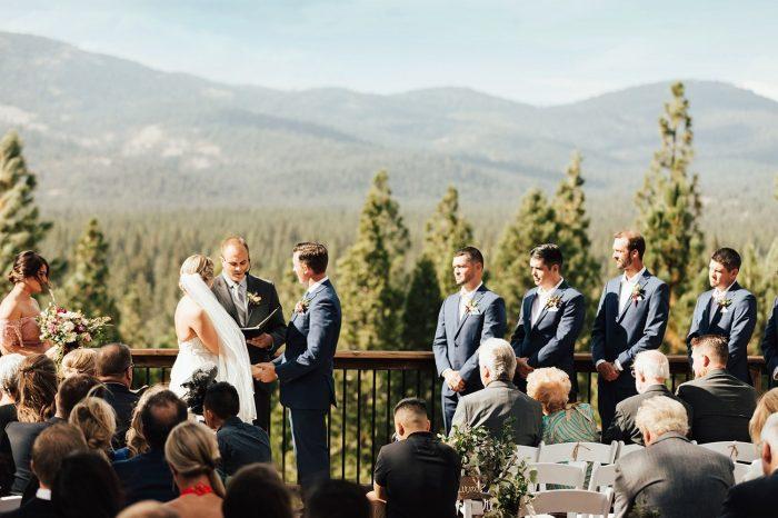 wedding reception Nakoma Resort Sierra Tahoe